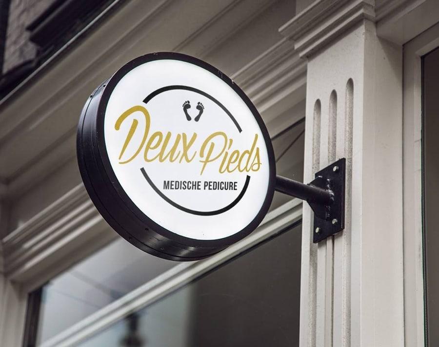 Logo ontwerp Deux Pieds | Design15