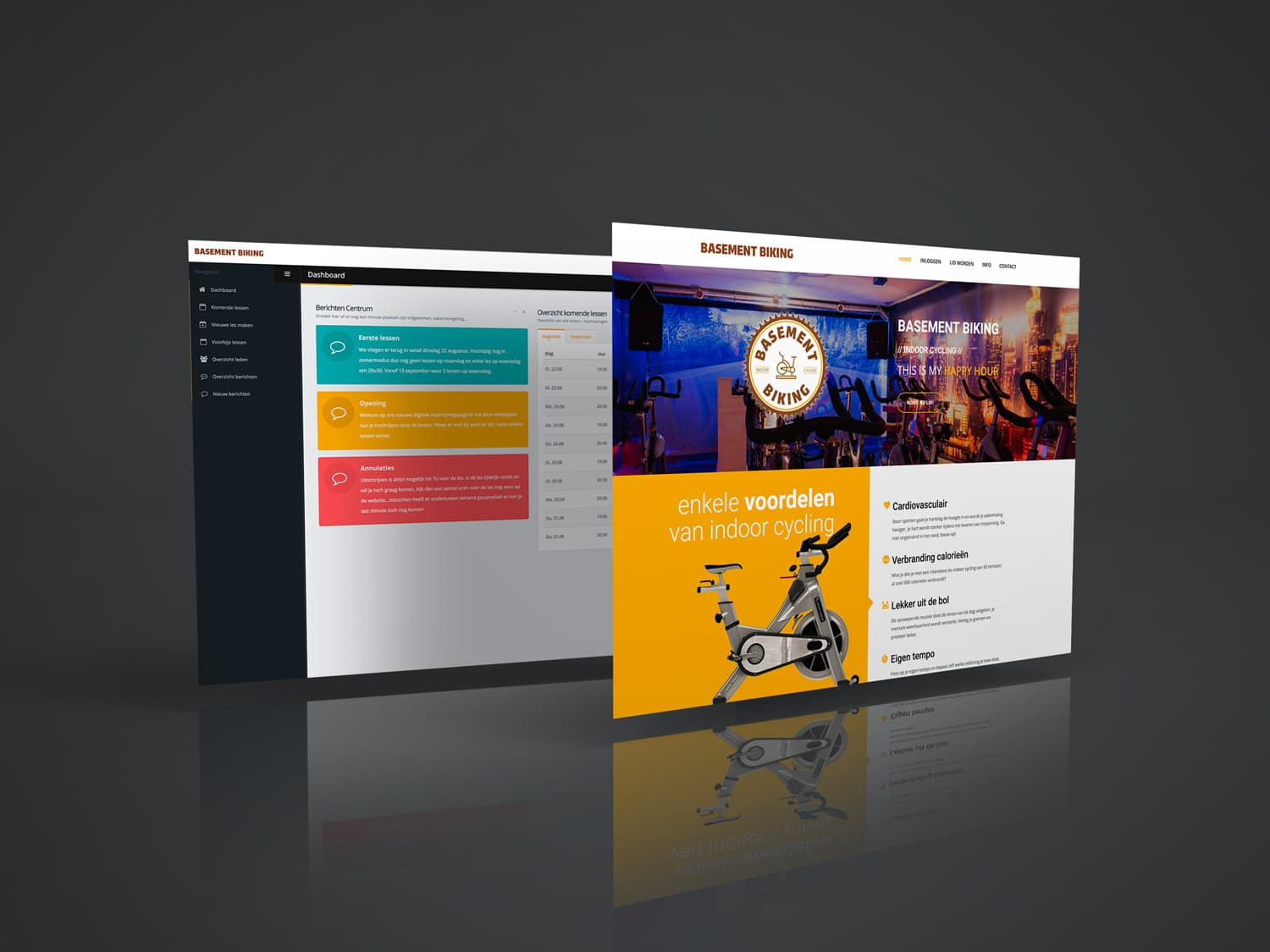 Design15 - webdesign op maat - basement biking