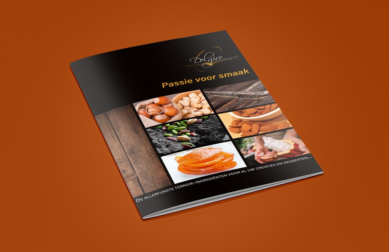 luxe brochure Delgiro | design15