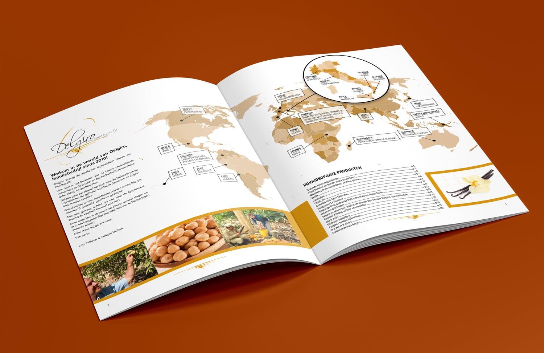 luxe brochure binnenkant Delgiro | design15