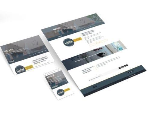 Huisstijl en webdesign hello aankoopbegeleiding | design15