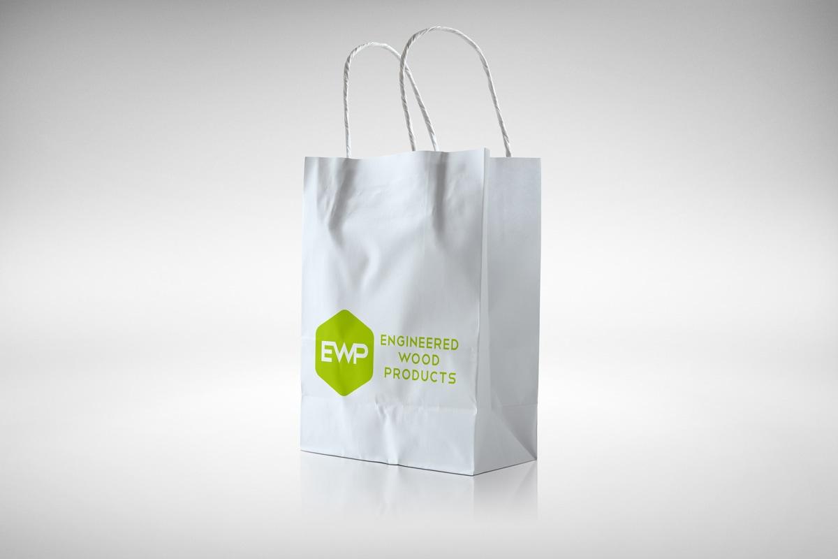 kraft papieren zak EWP | design15