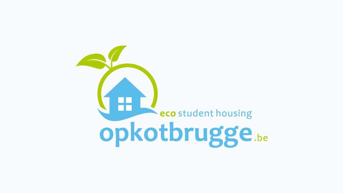 project op kot brugge logo ontwerp