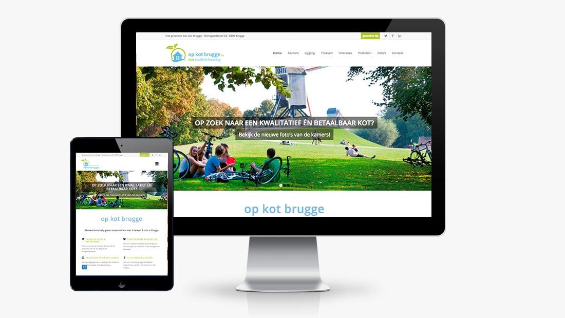 Project op kot brugge: webdesign