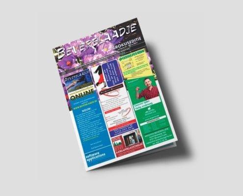 Beverblaadje - wordpress website | design15