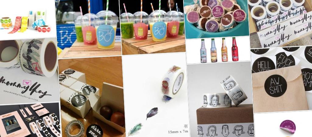 Stickers op rol | design15