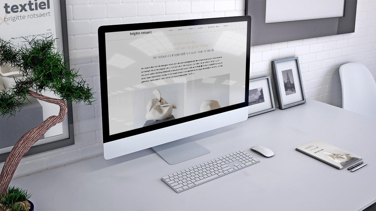CMS website design15 voor Brigitte Rotsaert