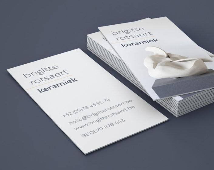 Huisstijl design15 voor Brigitte Rotsaert